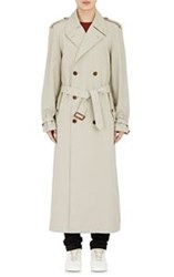 Maison Martin Margiela Maison Margiela Men's Twill Double Breasted Trench Coat Nude