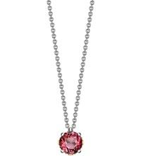 Theo Fennell Gold And Tourmaline Bud Pendant And Chain