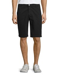 Ag Adriano Goldschmied Griffin Flat Front Shorts Super Black