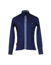 Yoon Shirts Dark Blue