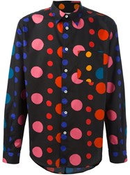 Paul Smith Ps By Dot Print Shirt Black