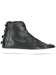 Borbonese Ankle Boots Black