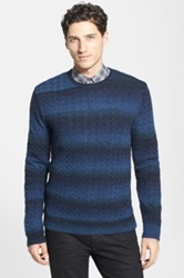 Star Usa By John Varvatos Cable Knit Crewneck Sweater