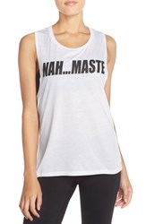 Women's Private Party 'Nah. Maste' Muscle Tank