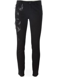 Ermanno Scervino Stretch Skinny Jeans Black