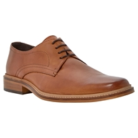 Dune Rotterdam Gibson Leather Shoes Tan