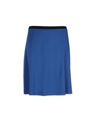 Wolford Knee Length Skirts Blue