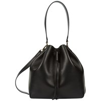 Jaeger Oxford Leather Duffle Bag Black