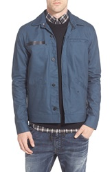 Tavik 'Sutter' Water Resistant Coated Canvas Jacket Eclipse