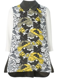 I'm Isola Marras Sleeveless Floral Blouse Green