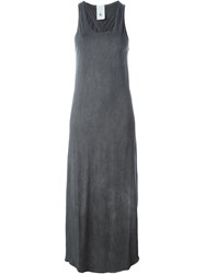Lost And Found Rooms Side Slit Tank Dress Grey
