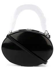 Simone Rocha Oval Shaped Shoulder Bag Black