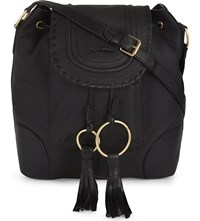 See By Chloe Polly Leather Bucket Bag Black