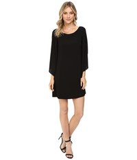 Jessica Simpson Flutter Sleeve Dress Black Women's Dress
