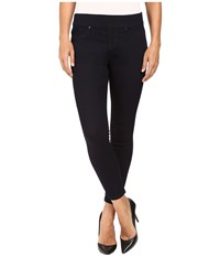 Jag Jeans Petite Pull On Marla Leggings In Leggings Denim In Indigo Rinse Indigo Rinse Women's Blue