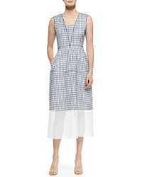 O'2nd Granada Printed Dress W Contrast Hem