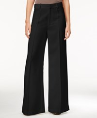 Rachel Roy Denise Pintucked Wide Leg Pants Only At Macy's Black