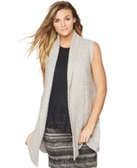 A Pea In The Pod Maternity Open Front Sweater Vest