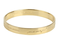 Kate Spade Bridesmaids Idiom Bangle Gold