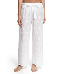Miguelina Remy Lightweight Pants Pure White