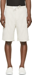 Cnc Costume National White Technical Bermuda Shorts