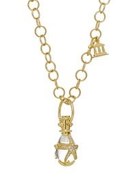 Temple St. Clair 18K Yellow Gold Diamond Pave Starfish Amulet