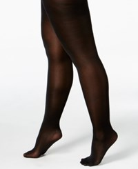 Berkshire Queen Size Easy On Diamond Tights Black