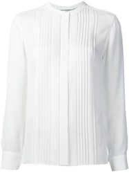 Vince Pintuck Shirt White