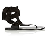 Rag And Bone Women's Mara Thong Sandals Black Blue Black Blue