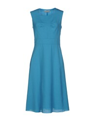 Andrea Incontri Dresses Knee Length Dresses Women Azure