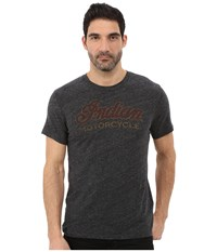 Lucky Brand Indian Retro Graphic Tee Onyx Men's T Shirt Black