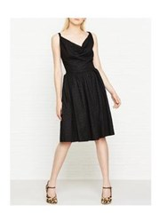 Vivienne Westwood Anglomania Twisted Monroe Dress Black