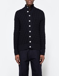 S.N.S. Herning Stark Cardigan Navy Blue