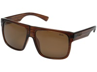Zeal Optics Eldorado Hickory Copper Polarized Lens Sport Sunglasses Brown