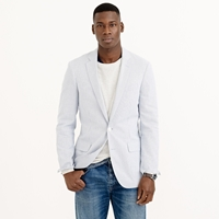 J.Crew Ludlow Sportcoat In Engineer Striped Cotton