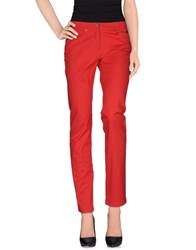 Caractere C24 Trousers Casual Trousers Women Red