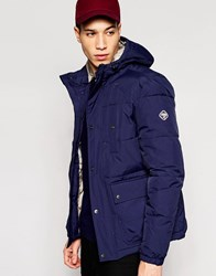 Puffa Caney Amsterdam Coat Navy