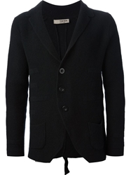 Tom Rebl Fine Knit Blazer Black