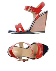 Vicini Tapeet Sandals Red