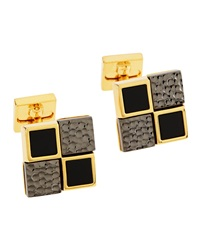 Ike Behar Multi Square Cuff Links