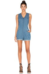 Blank Nyc V Neck Romper Bobble Head