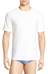 Men's Exofficio 'Give N Go' Mesh Crewneck T Shirt White
