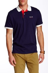 Gant Yale Solid Jersey Polo Blue