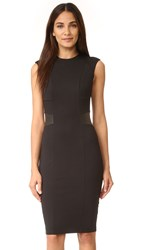 Ali And Jay Ponte Sheath Dress Black
