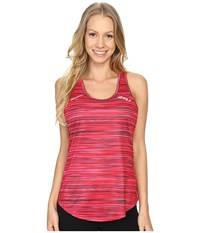 2Xu Ice X Singlet Printed Cherry Pink Chp Women's Clothing Red
