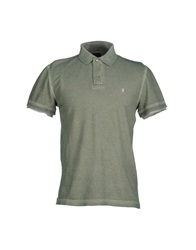 Jaggy Polo Shirts Green