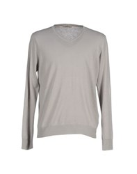 Seventy Knitwear Jumpers Men Light Grey