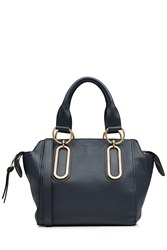 See By Chloe Leather Tote Blue