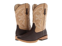 Roper Square Toe Cowboy Boot Brown Cowboy Boots
