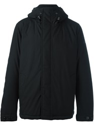 Woolrich Zipped Hooded Jacket Black